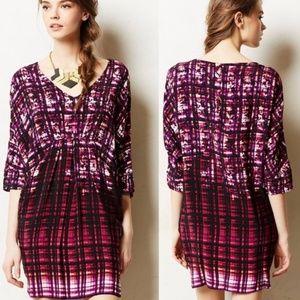 Maeve Anthro Petal Palette Dolman Pattern Dress